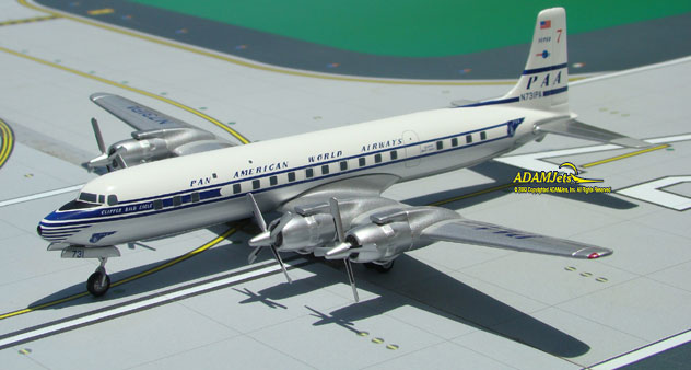 Pan American World Airways Douglas DC-7CF Reg. N731PA