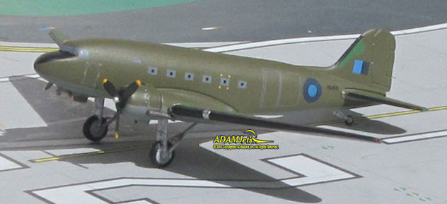 RAF - Royal Air Force Douglas C-47B (DC-3) Skytrain Reg. KG459