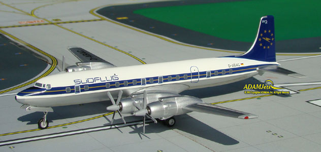 Sudflug International Airways Douglas DC-7C Reg. D-ABAC