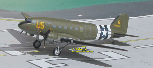 USAF - Air Force Douglas C-47B (DC-3) Skytrain Reg. 348608