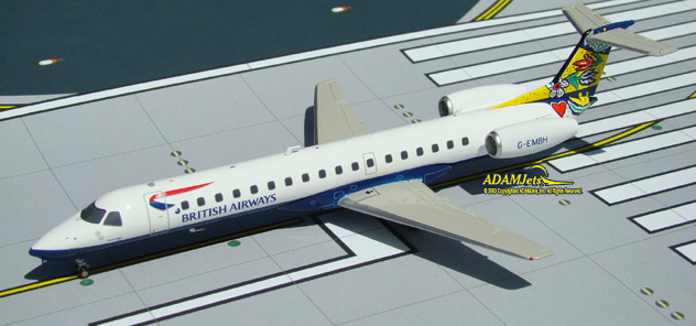 British Airways^Embraer ERJ-145EU Reg. G-EMBH