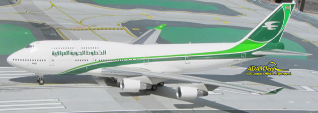 Iraqi Airways Boeing B747-4H6 Reg. YI-ASA
