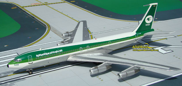 Iraqi Airways Boeing B707-370C Reg. YI-AGF