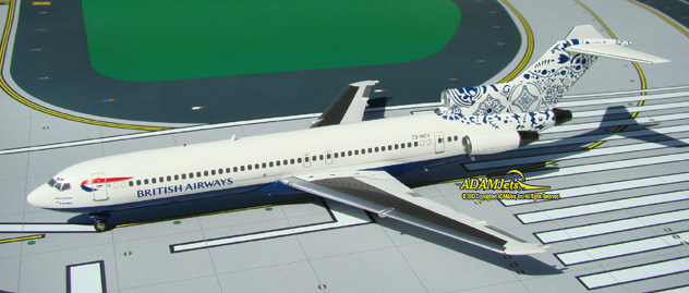 British Airways (Comair SA) Boeing B727-230/Adv. Reg. ZS-NOV