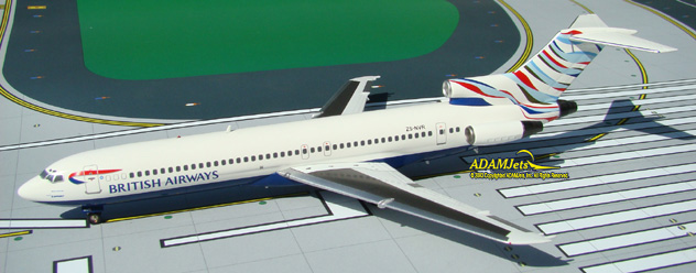 British Airways (Comair SA) Boeing B727-230/Ad. Reg. ZS-NVR