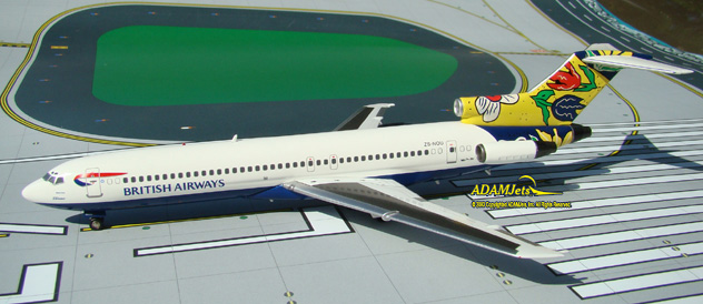 British Airways (Comair SA) Boeing B727-230/Adv. Reg. ZS-NOU