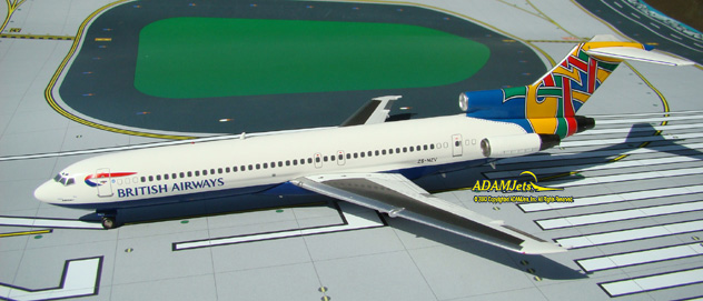 British Airways (Comair SA)^Boeing B727-230/Adv. Reg. ZS-NZV