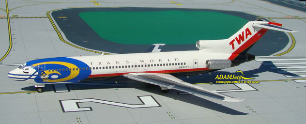 TWA - Trans World Airlines Boeing B727-231/Adv. Reg. N64347
