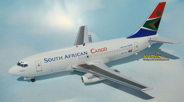 SAA - South African Cargo Airways Boeing B737-244/Adv.(F) Reg. ZS-SIF