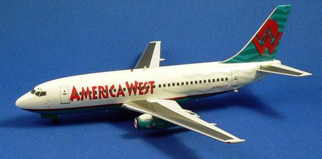 America West Airlines Boeing 737-277/Adv. Reg. N189AW