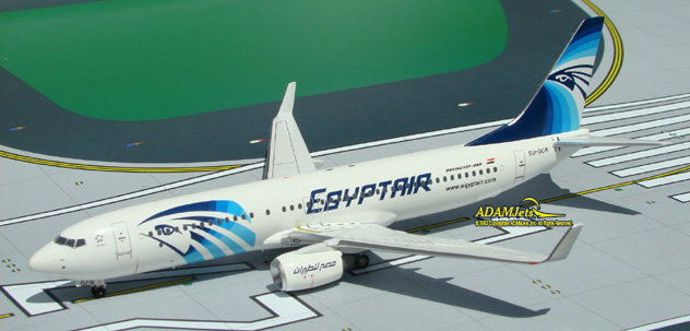 Egypt Air Airlines Boeing B737-866 Reg. SU-GCR