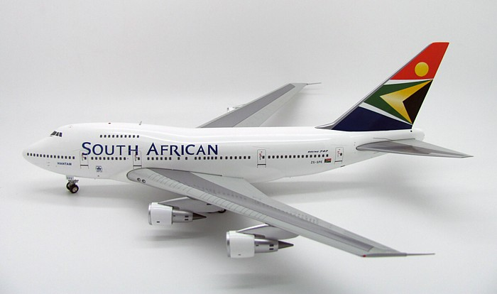 SAA - South African Airways Boeing B747-SP-44 Reg. ZS-SPE