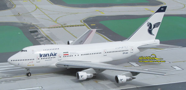 Iran Air Airlines Boeing B747SP-86 Reg. EP-IAA