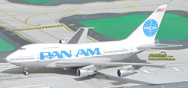 Pan Am Airlines Boeing B747SP-21 Reg. N538PA