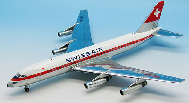 Swissair Airlines Convair 880-22M-3 Reg. HB-ICL