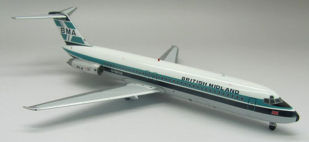 BMI - British Midland Airways Douglas DC-9-32 Reg. G-BMAK