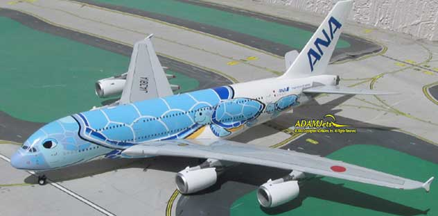 ANA - All Nippon Airways Airbus A380-841 Reg. JA381A