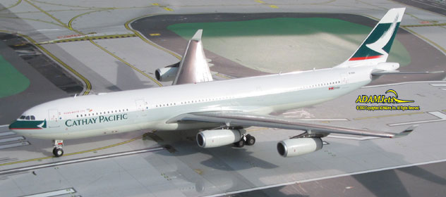 Cathay Pacific Airways Airbus A340-343 Reg. B-HLV