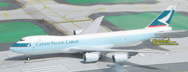 Cathay Pacific Airways Cargo Boeing B747-867F/SCD Reg. B-LJM