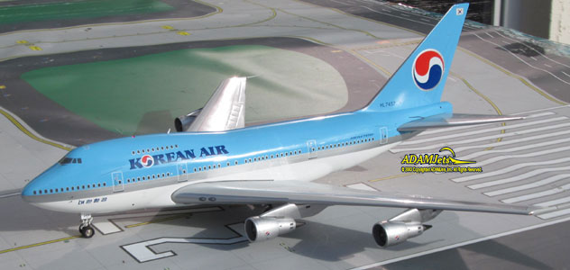 Korean Air Airlines Airlines Boeing B747SP-B5 Reg. HL7457