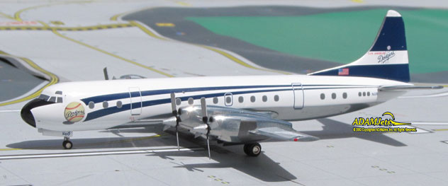 Los Angeles Dodgers Corporation Lockheed L-188 Electra Reg. N1R