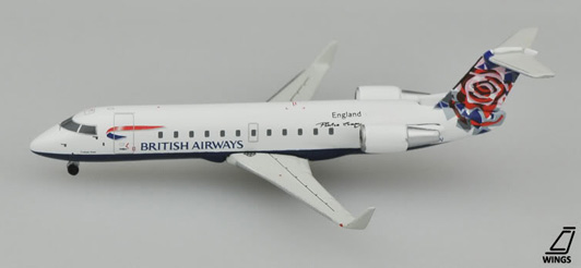 British Airways Canadair CRJ-200/LR Reg. G-MSKN
