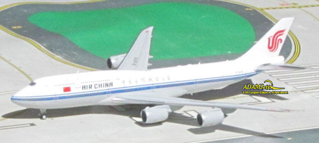 Air China - Chinese Air Force One Boeing B747-89L Reg. B-2479