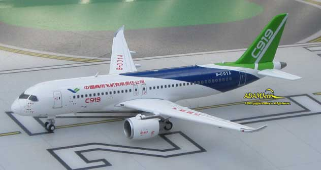 COMAC - Commercial Aircraft Corporation of China COMAC C919 Reg. B-001A