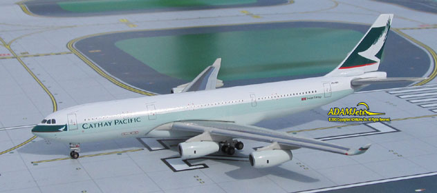 Cathay Pacific Airways Airbus A340-211 Reg. VR-HMU