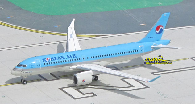Korean Air Airlines Bombardier CS300 Reg. HL8092
