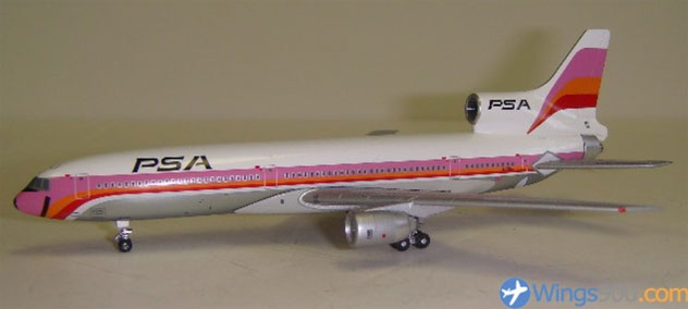 PSA - Pacific Southwest Airlines Lockheed L-1011-385-1 Reg. N10112