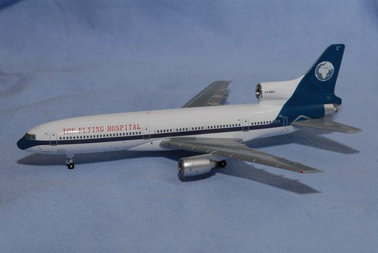 The Flying Hospital Lockheed L-1011-385-1-15 Reg. P4-MED