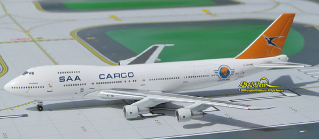 SAA - South African Cargo Airways Boeing B747-244B/SF Reg. ZS-SAR