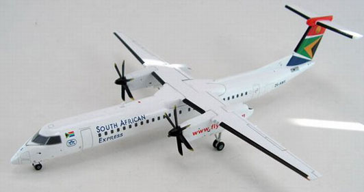 SAA- South African Express Airlines^Bombardier DASH-8 402Q Reg. ZS-MNS