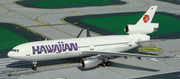 Hawaiian Air Airlines McDonnell Douglas DC-10-30 Reg. N35084