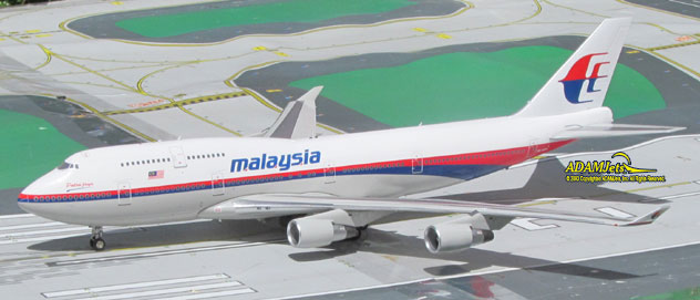 Malaysia Airlines^Boeing B747-4H6 Reg. 9M-MPP
