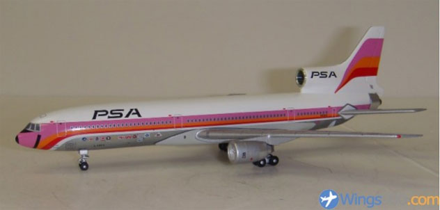 PSA - Pacific Southwest Airlines Lockheed L-1011-385-1 Reg N10114