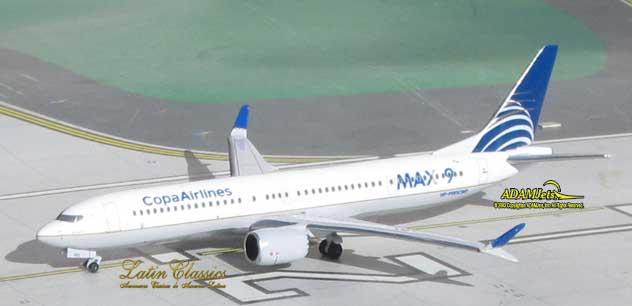 COPA Airlines Boeing B737-9Max Reg. HP-9901CMP