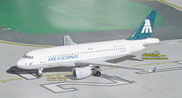 Mexicana Airlines Airbus A319-112 Reg. N750MX