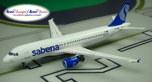 Sabena Airlines^Airbus A320-214 Reg. OO-SNF