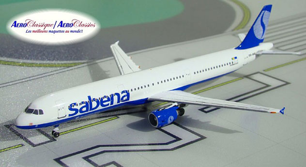 Sabena Airlines Airbus A321-211 Reg. OO-SUC