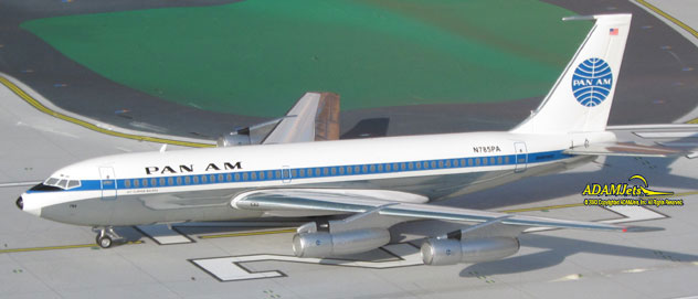 Pan Am Airlines Boeing B720-030B Reg. N785PA