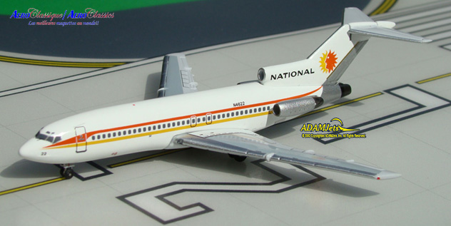 National Airlines Boeing B727-035 Reg. N4622