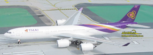 THAI Intl. Airways Airbus A340-500 Reg. HS-TLD