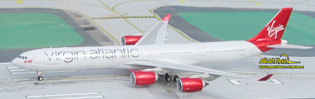 Virgin Atlantic Airways Airbus A340-642 Reg. G-VEIL