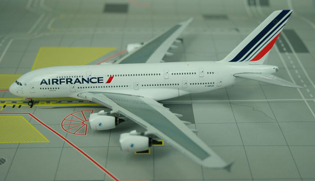Air France Airlines Airbus A380-861 Reg. F-HPJC