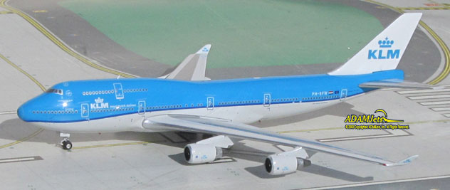 KLM - Royal Dutch Airlines Boeing B747-406M Reg. PH-BFW