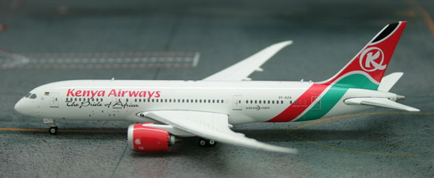 Kenya Airways Boeing B787-8 Dreamliner Reg. 5Y-KZA