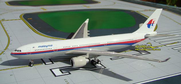 Malaysia Airlines Airbus A330-223 Reg. 9M-MKW