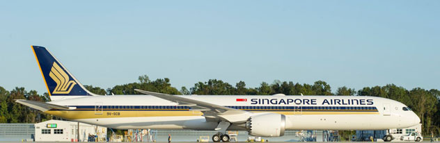 Singapore Airlines Boeing B787-1000 Dreamliner